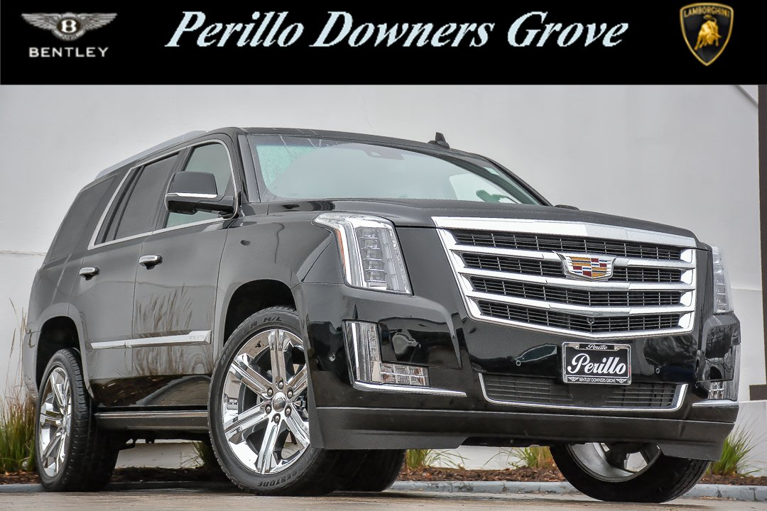 pre owned 2017 cadillac escalade premium luxury r ent w nav sport utility in downers grove. Black Bedroom Furniture Sets. Home Design Ideas