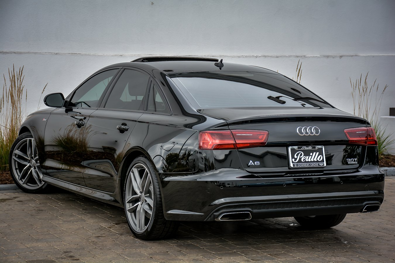 pre owned 2016 audi a6 3 0t prestige s line black optic pkg w nav 4dr car in downers grove. Black Bedroom Furniture Sets. Home Design Ideas